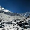 Тур в Непал: вид на Манаслу с базового лагеря