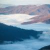 Туман над поселком Деловое