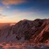Горный хребет Мармарош зимой