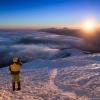 Закат на Мармарошском горном массиве