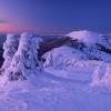 Гора Берлебашка в вечерних сумерках